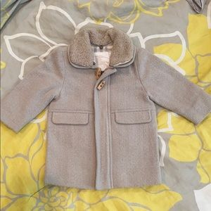 Burberry Infant Peacoat **WORN ONCE**
